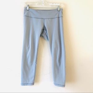 Zella gray cropped leggings small